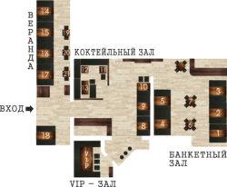План помещения ресторана 1 Буча